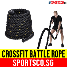 Sportsco Crossfit Nylon Battle Battling Rope 1 5 X 15M Sg Deal
