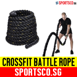 Where Can You Buy Sportsco Crossfit Nylon Battle Battling Rope 1 5 X 9M Sg