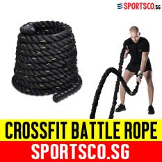 Latest Sportsco Crossfit Nylon Battle Battling Rope 1 5 X 9M Sg