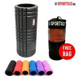 Sportsco Flexi Grid Foam Roller Black With Black Inner Core Sg Sale