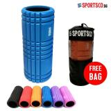 Top Rated Sportsco Flexi Grid Foam Roller Blue With Black Inner Core Sg