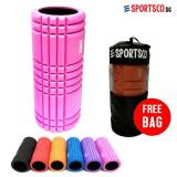 Sale Sportsco Flexi Grid Foam Roller Pink With Black Inner Core Sg Sportsco On Singapore