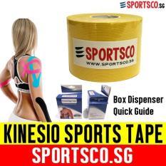 Sportsco Kinesio Kinesiology Sports Tape 5m X 5cm (yellow) (sg) By Sportsco Singapore.