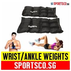 Sale Sportsco Oxford Wrist Ankle Weight 2Kg Each Sold In Pair Black Sg Sportsco On Singapore