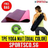 Where Can You Buy Sportsco Premium Tpe Yoga Exercise Mat Dual Color Purple Pink Sg