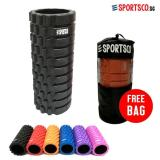 List Price Sportsco Standard Eva Foam Roller Black With Black Inner Core Sg Sportsco
