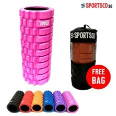 Compare Sportsco Standard Eva Foam Roller Pink With Black Inner Core Sg Prices