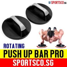 Sale Sportsco Swivel Push Up Bar Pro Sg Sportsco Online