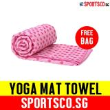 How To Buy Sportsco Yoga Towel Mat Anti Slip Pink Sg
