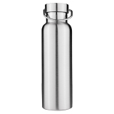 Stainless Steel Thermos Double Wall Vacuum Insulated Water Bottles Bamboo Cap 650Ml Intl Sale