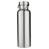 Buy Stainless Steel Thermos Double Wall Vacuum Insulated Water Bottles Bamboo Cap 700Ml Intl Cheap China