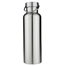 Discount Stainless Steel Thermos Double Wall Vacuum Insulated Water Bottles Bamboo Cap 700Ml Intl Oem