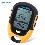 Deals For Sunroad Outdoor Multifunctional Waterproof Lcd Digital Compass Altimeter Barometer Intl