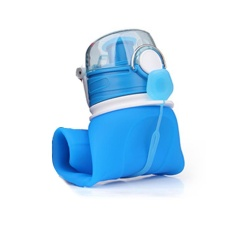 Sunshop New Outdoors Portable Foldable Leak Proof Water Bottle Kettle Silicone Folding Water Cup 750Ml Intl Coupon Code
