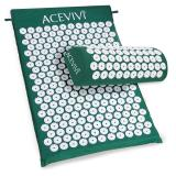 Purchase Sunwonder Acevivi Acupressure Mat Relieve Stress Pain Acupuncture Spike Yoga Mat With Pillow Green Intl