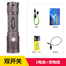Sale Supfire L5 S Double Control Switch Light Searchlight Glare Flashlight Online On China