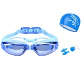 Review Swimming Myopia Goggles Diopter 2 Swim Cap Case Nose Clip Ear Plugs Swim Goggles Nearsighted Anti Fog Uv Protection For *d*lt Men Women Youth Kids Child Intl Oem On China