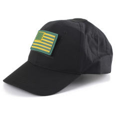 Get Cheap Tactical Operator Hat With Front Top Velcro For Flag Patch Ball Capcs Sports Black Intl