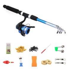 Telescopic Spinning Fishing Rod Kit Sea Saltwater Freshwater Fishing Rods With Reel Combos And Lines Fishing Tool Accessories Intl Compare Prices