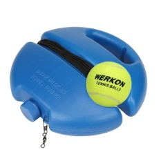 Tennis Ball Singles Training Practice Balls Back Base Trainer Tools And Tennis - Intl By Audestore.