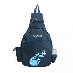 Wholesale Tf High Grade Waterproof Sports Bag Single Shoulder Tennis Bag Both Shoulders Multifunctional Tennis Bag Dark Blue Intl