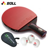 The Boll Pen Carbon Nano King Single Shot Genuine Reverse Table Tennis Racket Intl Reviews