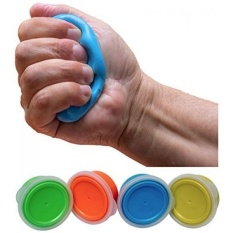 Buy Therapy Putty Resistive Hand Exercise Kit Flexible Putty For Finger And Hand Recovery And Rehabilitation 4 Piece Set 2 Oz Each Yellow Red Green Blue Intl Not Specified