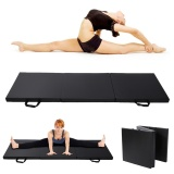 Buy Thick Soft Folding Panel Gymnastics Mat Gym Yoga Pilates Fitness Exercise Intl