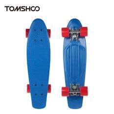 fc79136f62 TOMSHOO 22 Inch Skateboard Cruiser Board PU Wheels Skate Board Complete  Deck Skateboard - intl