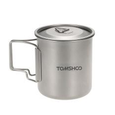 Price Tomshoo 420Ml Titanium Water Cup Picnic Camping Mug With Lid Intl On Hong Kong Sar China