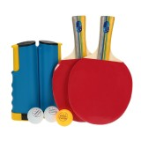 Brand New Tomshoo Table Tennis Portable Sports To Go Set 1 Pair Of Bat 3 Balls 1 Net Intl