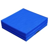 Discount Trifold Sponge Yoga Mat Folding Gymnastics Exercise Mat 70 8 X 23 6 X 1 9 Inch Specification Sky Blue Intl Oem On China