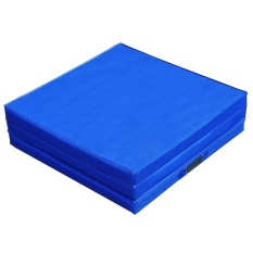 Sale Trifold Sponge Yoga Mat Folding Gymnastics Exercise Mat 70 8 X 23 6 X 1 9 Inch Specification Sky Blue Intl Oem Original
