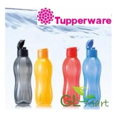 Compare Price Tupperware Eco Water Bottle 1L Flip Top (Black On Singapore