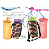 Tupperware Fridge Water Bottle 2L Fridge Storage Guava Red With Pouch Tupperware Brands Cheap On Singapore
