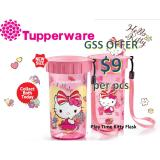 Tupperware Hello Kitty Flask Play Time Kitty Flask Water Bottle Promo Code