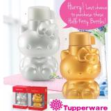 Cheapest Tupperware Limited Edition Hello Kitty Eco Bottle 425Ml Pearl With Gift Box
