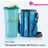 Compare Price Tupperware Thirstquake Thirst Quake Tumbler 900Ml Water Bottle Free Pouch Tupperware Brands On Singapore