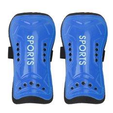 Ultra Light Soft Football Shin Pads Soccer Guards Sports Leg Protector Kids(blue) - Intl By Sportschannel.