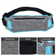 Ultra-Thin Breathable Water Resistant Outdoor Sports Cycling Running Waist Bag (blue) - Intl By Highfly.