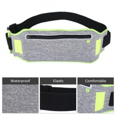 Ultra-Thin Breathable Water Resistant Outdoor Sports Cycling Running Waist Bag (green) - Intl By Highfly.