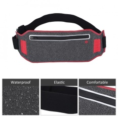Ultra-Thin Breathable Water Resistant Outdoor Sports Cycling Running Waist Bag (red) - Intl By Highfly.