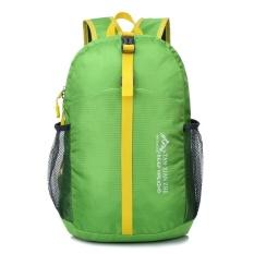 Ultraligh Foldable Waterproof Backpack Hiking Bag Camping Travel Sport Pack Green - intl