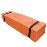 Promo Ultralight Foam Outdoor Camping Mat Easy Folding Beach Tent Sleeping Pad Waterproof Mattress 190 57 2 Cm Color Orange Size 190 57 2Cmorangedark Greenredblue Intl