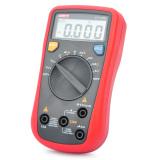 Uni T Ut136B 2 Lcd Digital Multimeter Red Grey 1 X 9V For Sale