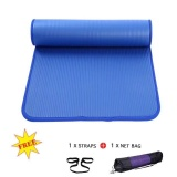 Price Upgrade Side Whipstitch Yoga Mat 183X61X10Cm None Slip Gymnastics Mats With Bag Rope Intl Oem Original