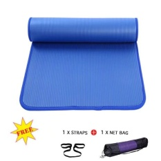 Buy Upgrade Side Whipstitch Yoga Mat 183X61X10Cm None Slip Gymnastics Mats With Bag Rope Intl Oem Cheap