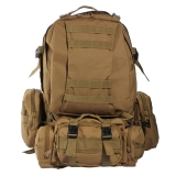Cheap Us 50L 3D Molle Assault Tactical Outdoor Military Rucksack Backpack Camping Bag Intl Online