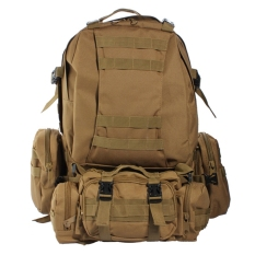 Buy Us 50L 3D Molle Assault Tactical Outdoor Military Rucksack Backpack Camping Bag Intl Oem