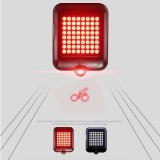 Best Reviews Of Usb Rechargeable Cycling Bicycle Laser Turn Brake Signal Tail Light 64 Led Intl